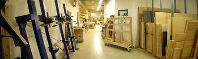Möbelbau - Holzlager