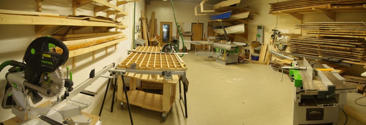 Möbelbau - Maschinenraum