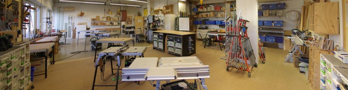 Möbelbau - Werkstattraum 1