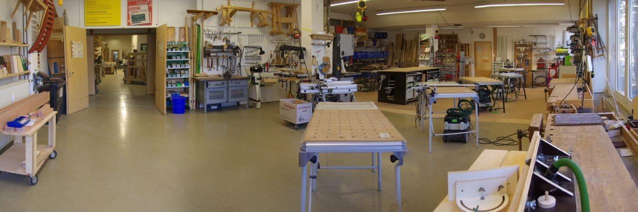 Möbelbau - Werkstattraum 2