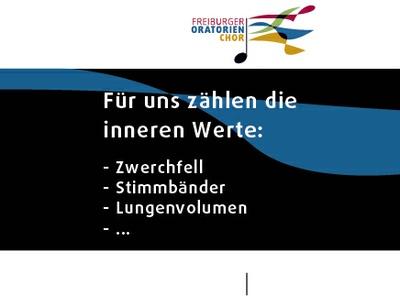 Freiburger Oratorienchor Logo